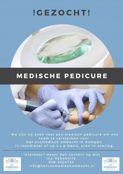 Gezocht - medische pedicure